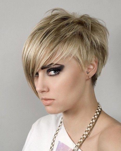 Short Hairstyles Hair Pinterest Peinado corto, Peinados y Cabello
