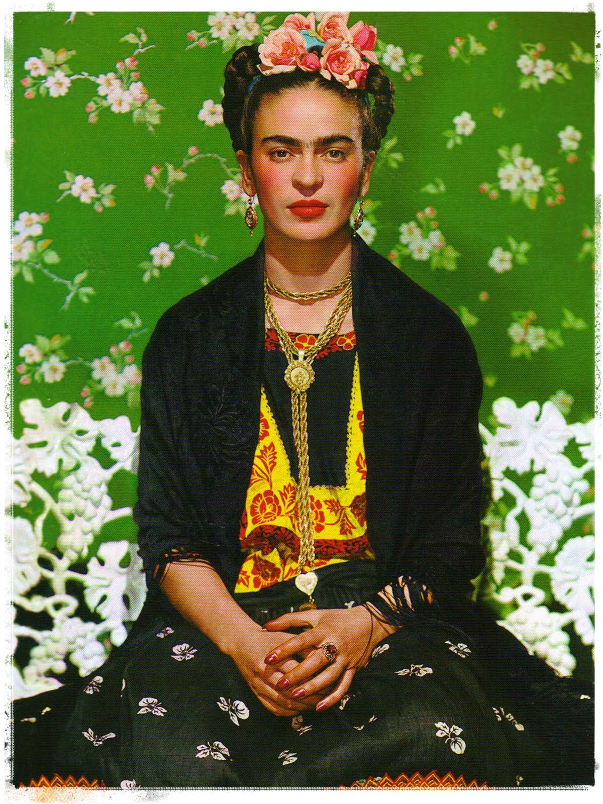 HAPPY BIRTHDAY FRIDA KAHLO  (July 6, 1907 – July 13, 1954)