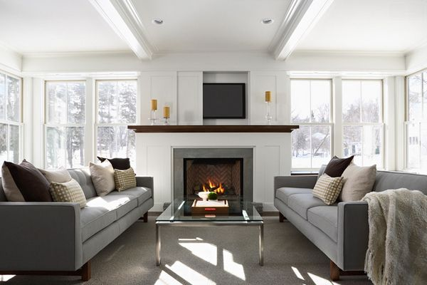 21 Beautiful Symmetrical Living Rooms Minneapolis Living Rooms
