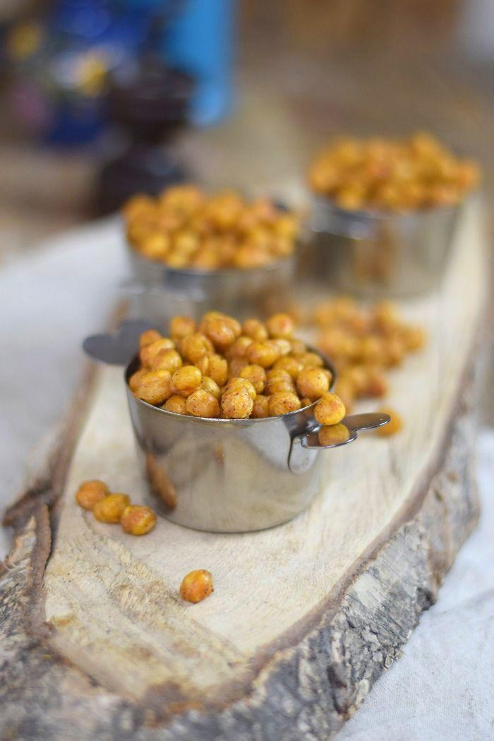 Kichererbsen und Käsestangen Snack | Das Knusperstübchen