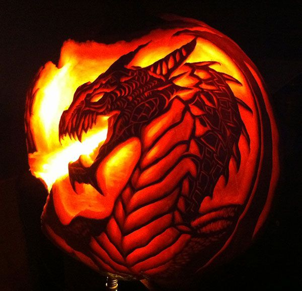 Dragon pumpkin carving … pinteres…