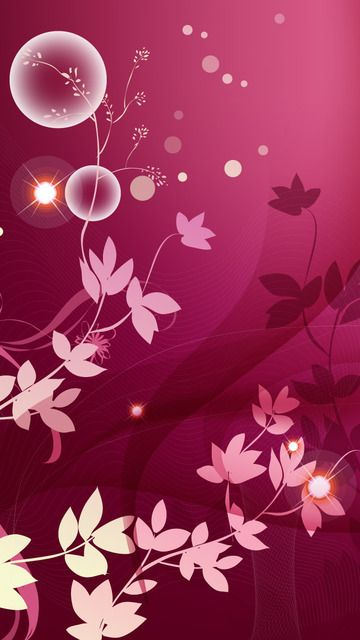 Download free Pink Butterfly Mobile Wallpaper contributed by