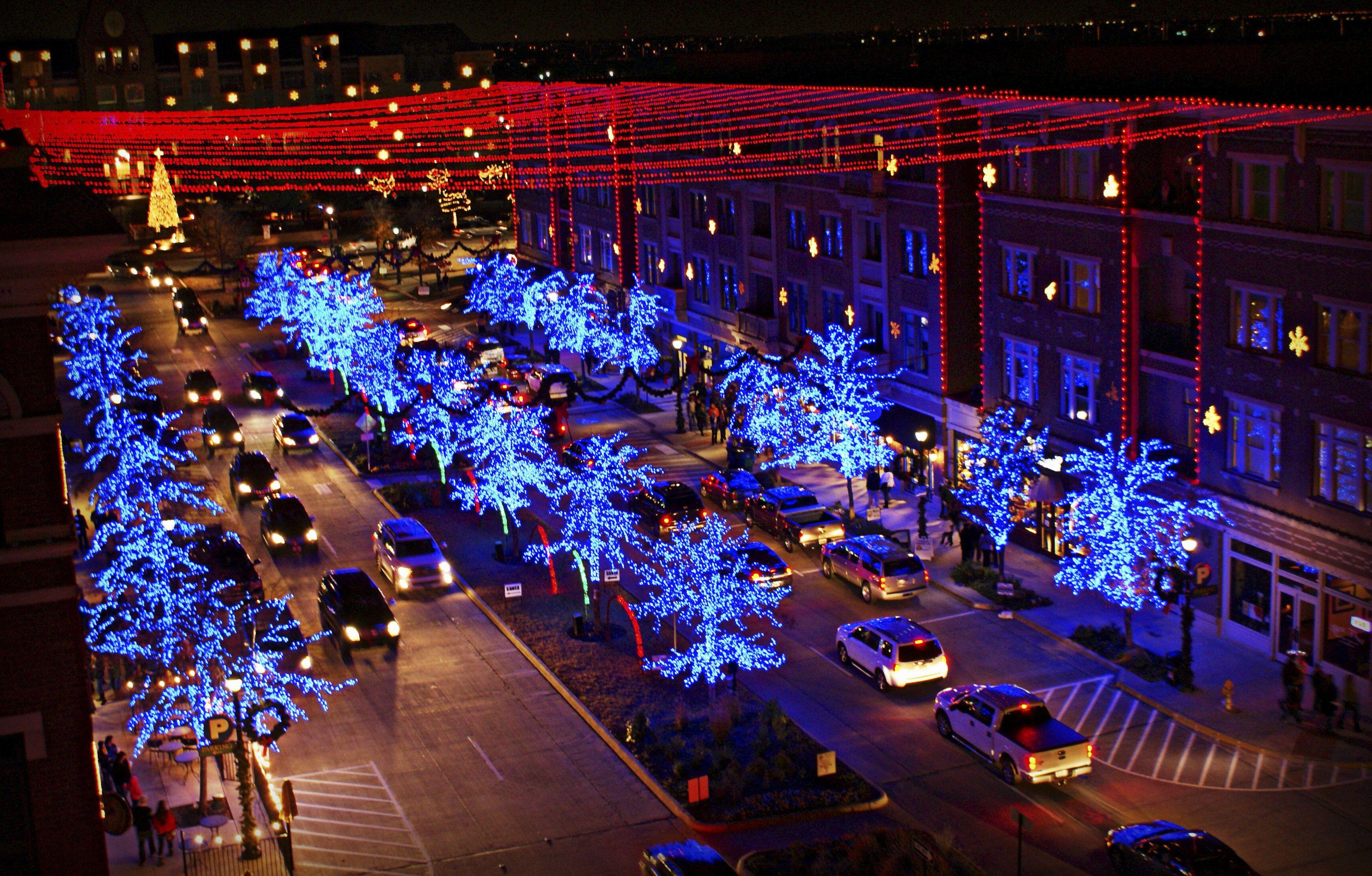 christmas lights Frisco Texas   Texas   Pinterest   Frisco texas ...