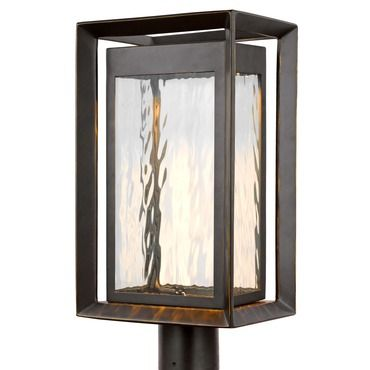 Urbandale Warm Dim Led Outdoor Post Mount By Feiss Ol13707anbz L1 In 2020 Outdoor Post Lights Post Lighting Lantern Post