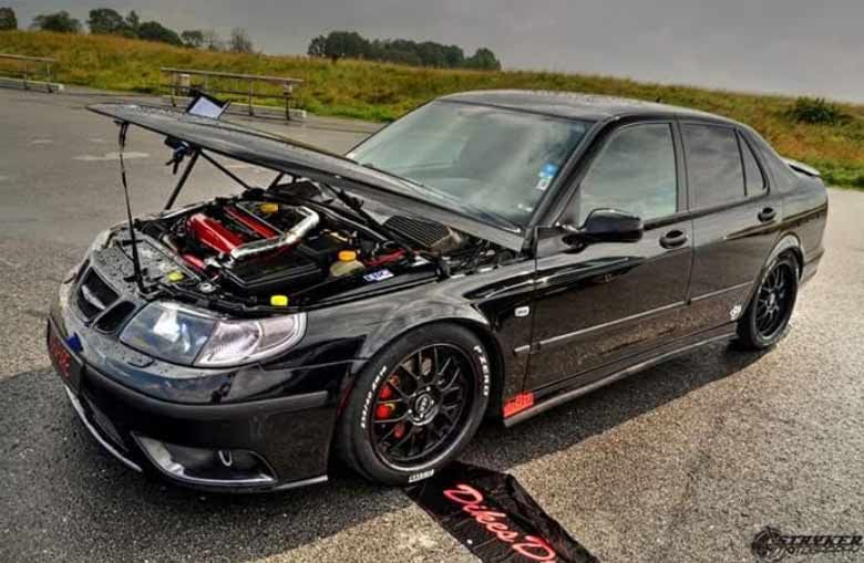 Saab 9 5 LineR Project Car Is Ready For The Track