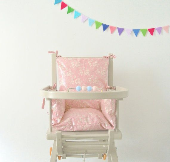 Combelle High Chair Cushion Pad Liberty Capel By LittleCloudUk, £55.00