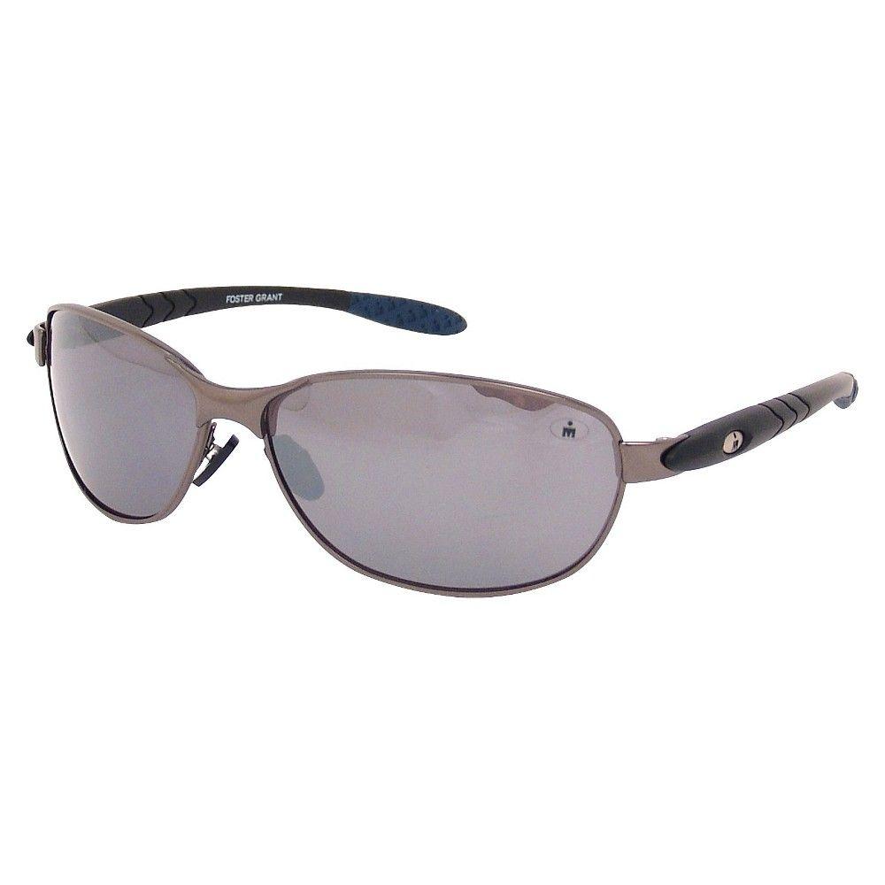 1906991d4a Men s Ironman Wraparound Oval Sunglasses - Black