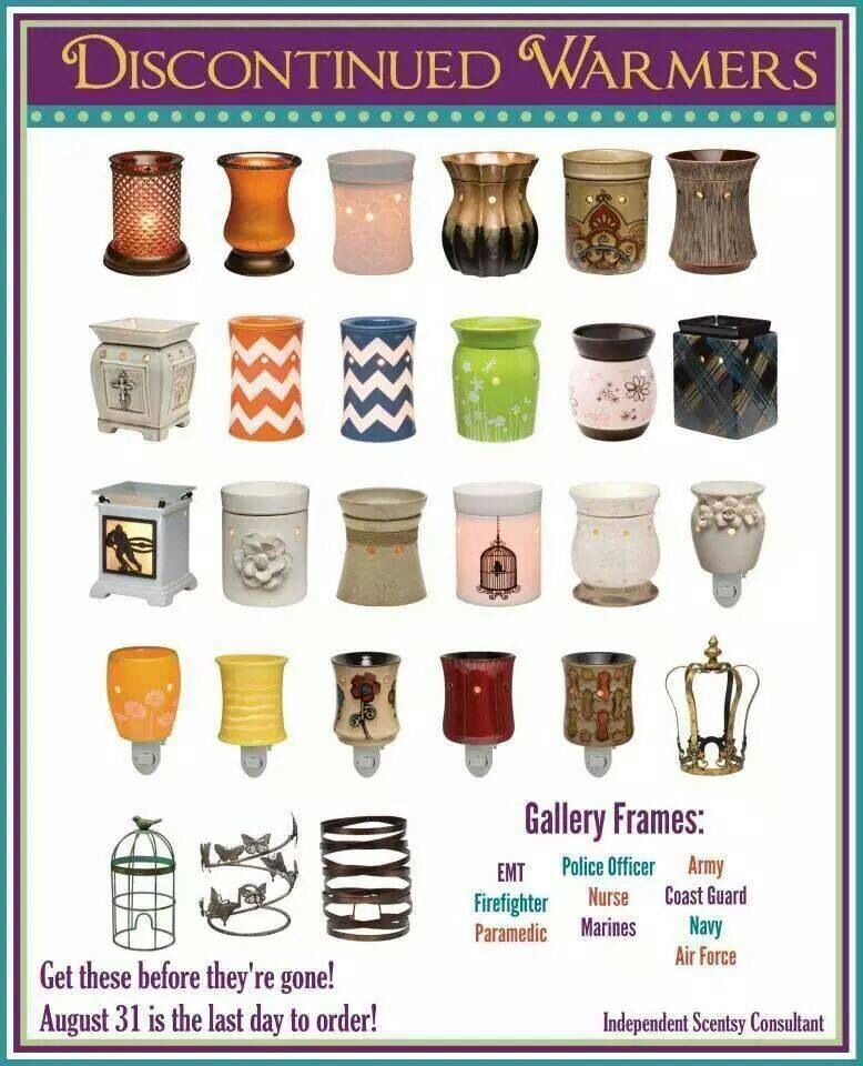 These scents will only be available until August 31st. Shop online at https://ashleybraden.scentsy.us
