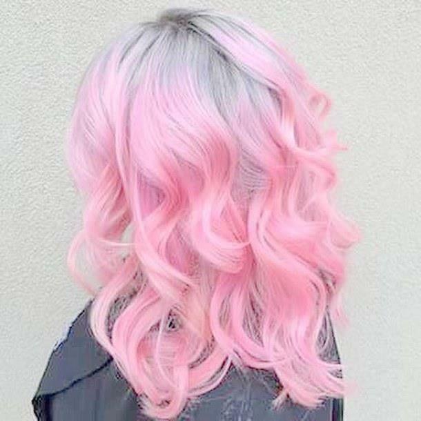 Cotton Candy Pink Hair Cotton Candy Pink Hair Hair Styles Pink Hair