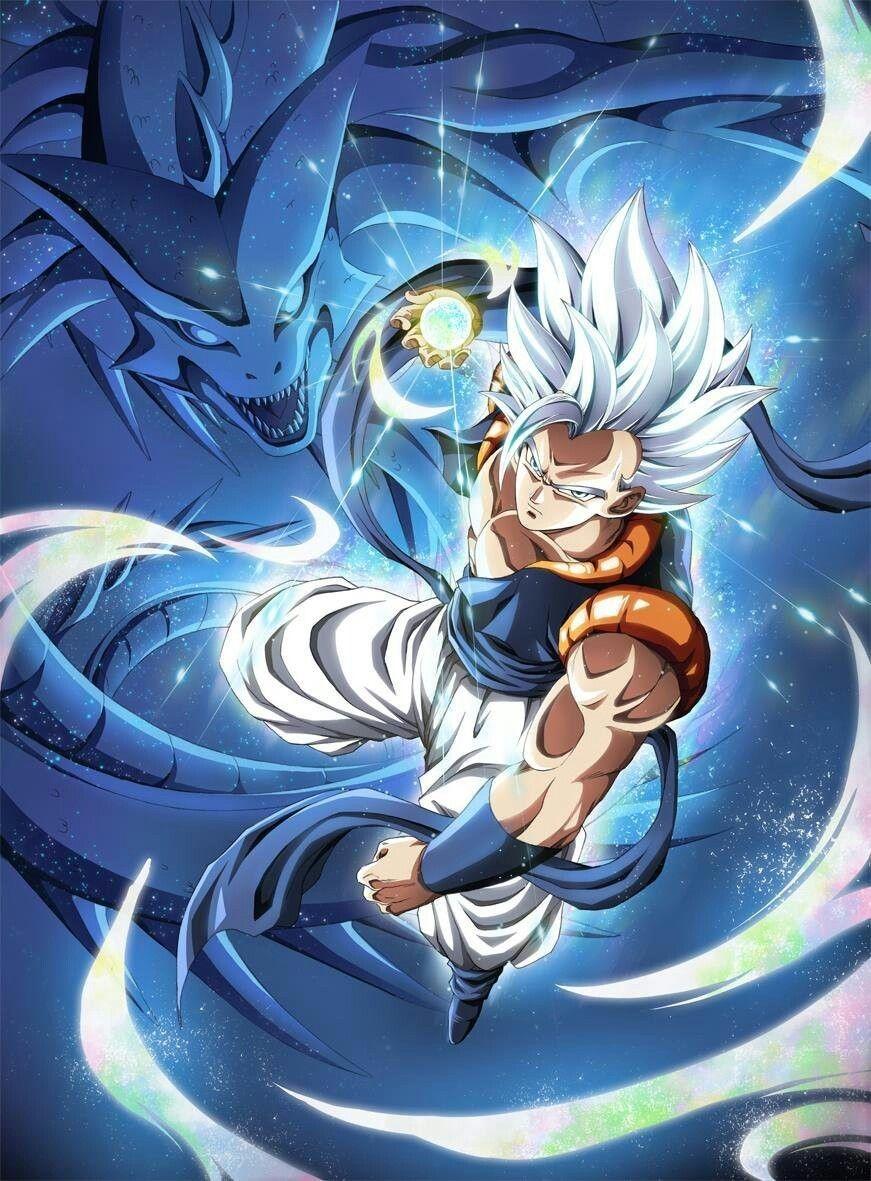 Gogeta Dragon Ball Super Artwork Anime Dragon Ball Super Dragon Ball Super Art