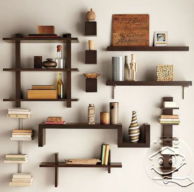50 Desain Rak Dinding Minimalis Termasuk Rak Buku