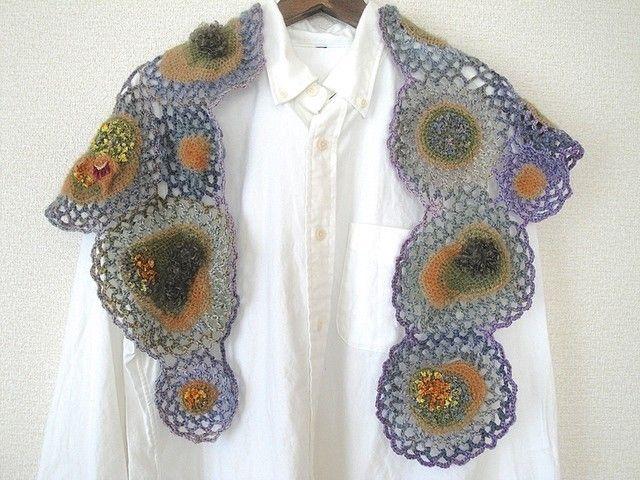 crochet shawl   crochet   Pinterest
