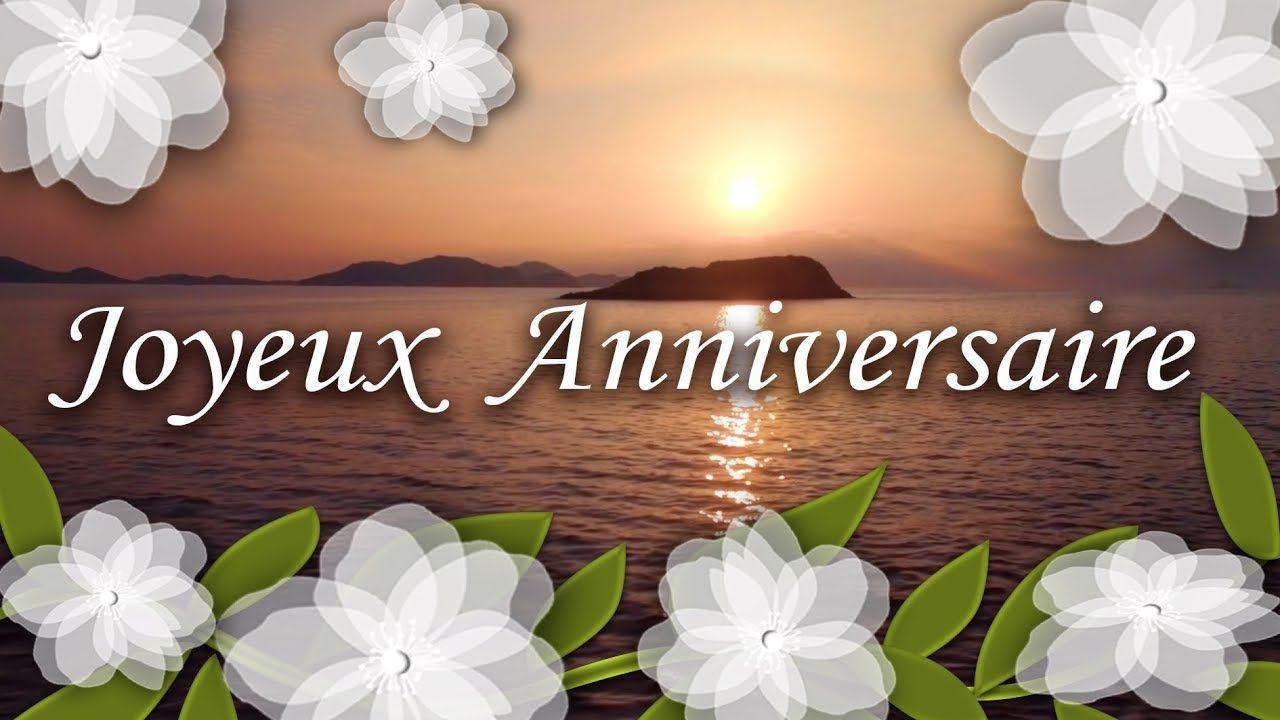 JOYEUX ANNIVERSAIRE , Jolie carte virtuelle anniversaire