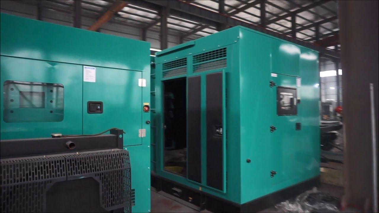 Silent Diesel Generator Set Starlight Genset Diesel Generators Diesel Locker Storage
