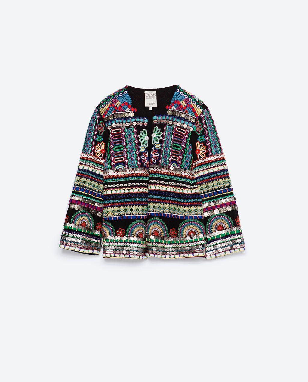 EMBROIDERED JACKET-Jackets-WOMAN | ZARA United States