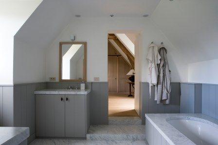 Lambrisering In Badkamer : Badkamer met lambrisering badkamer stuyts realisatie