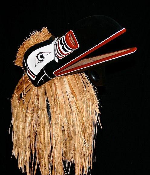 photo of Raven Mask Trevor Hunt