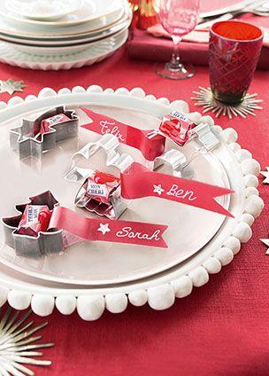 Dekorieren und schenken mit den pralinen von ferrero for Tischdekoration weihnachten dekoration