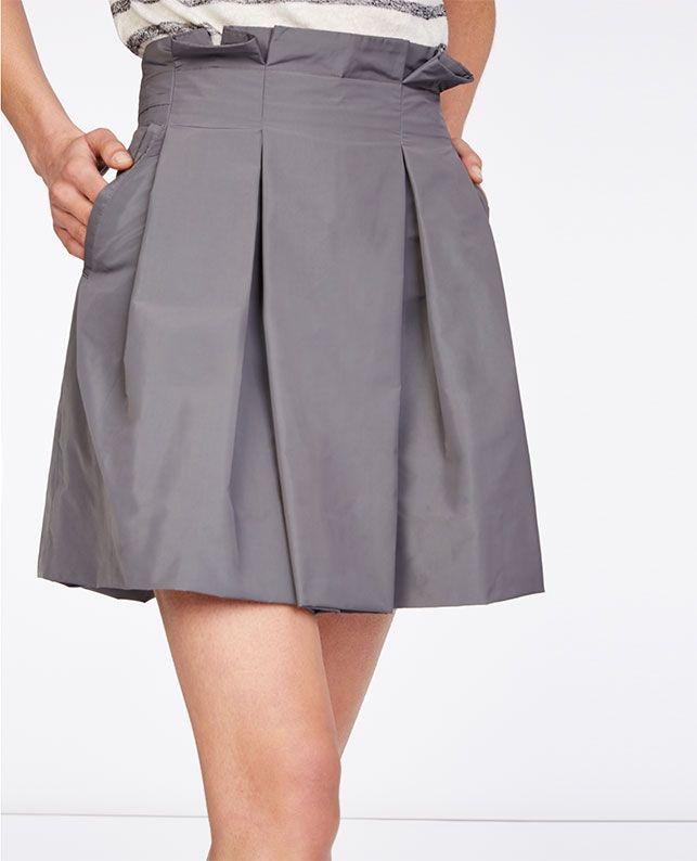Jupe Taille Haute Jupes Comptoir Des Cotonniers Fashion Clothes Womens Skirt