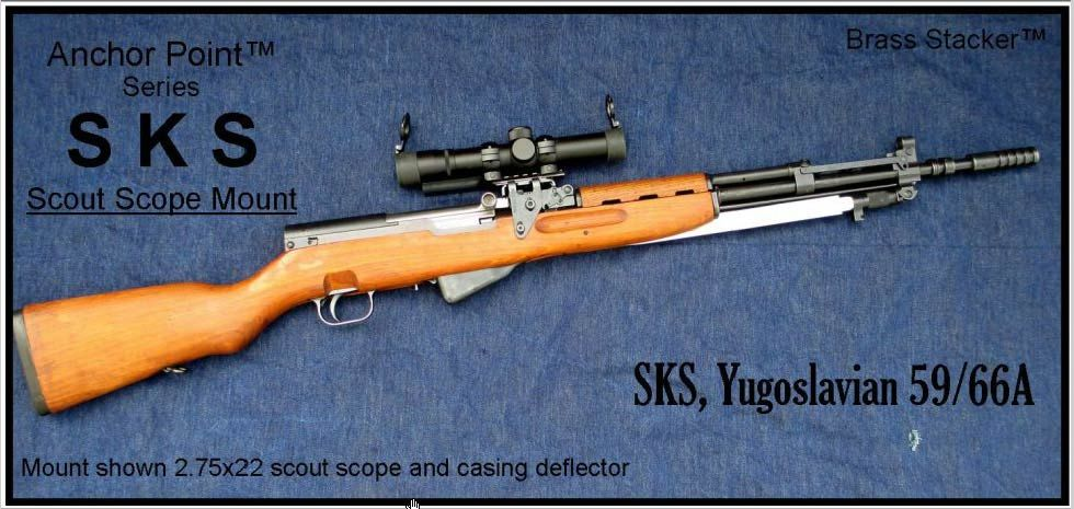 Pin by Scope Mount Guy on #SKS See Thru Scout Scope Mount