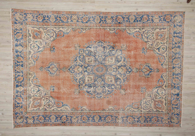 Bohemian Rug Wool Rug Turkish Handmade Rug,6/'7/'/'x9/'2/'/'ft,Vintage Rug,Anatolian Rug Eclectic Style Persian Design Handmade Rug Area Rug