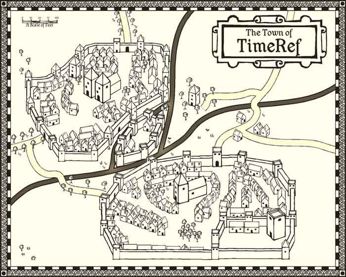 Medieval village printable free google keres s What s it like to live in a small town