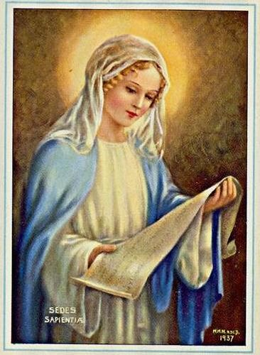 Image result for mary sede sapientiae