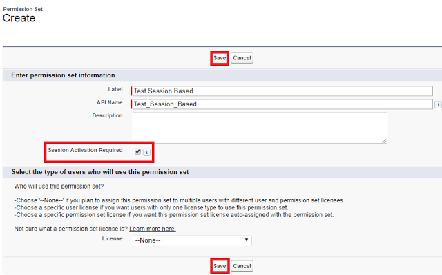 Session-Based Permission Sets in Salesforce - Use a session-based