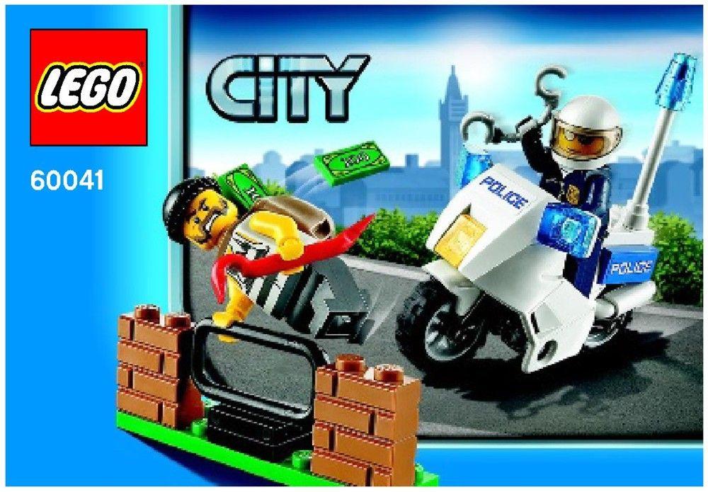 LEGO City NEW Crook 60041 Minifigure Crook Pursuit