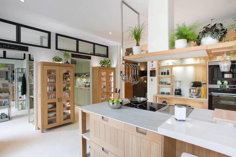 Cocina despensa y lavander a as es la propuesta de for Muebles cantero