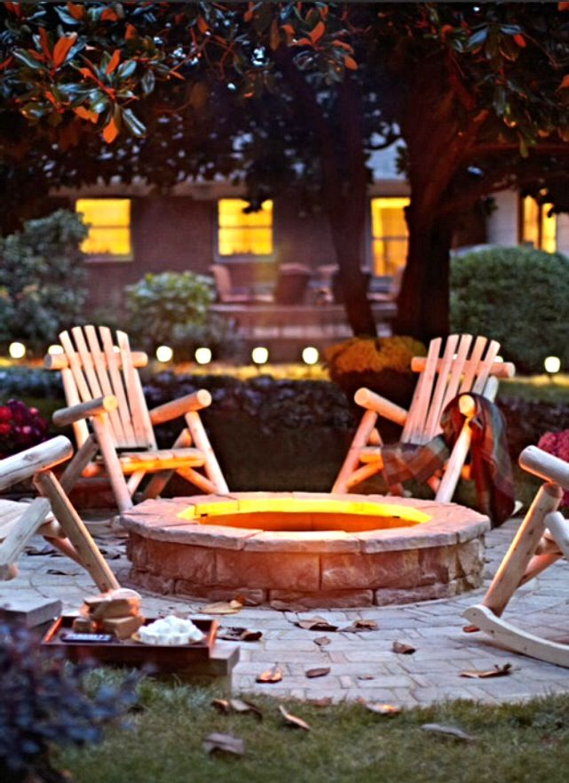 22 weird and wonderful features you ll wish you had in on best large backyard ideas with attractive fire pit on a budget id=37754