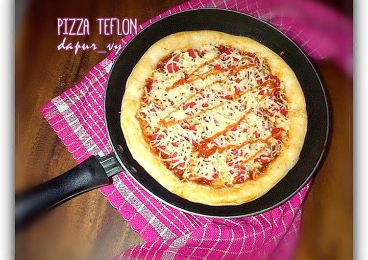 Resep Pizza Teflon Tanpa Telur Margarin Oleh Dapurvy Resep Makanan Dan Minuman Makanan Resep