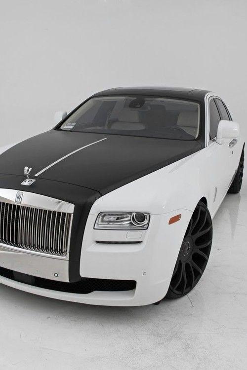 Black & white Rolls Royce- ~LadyLuxury~