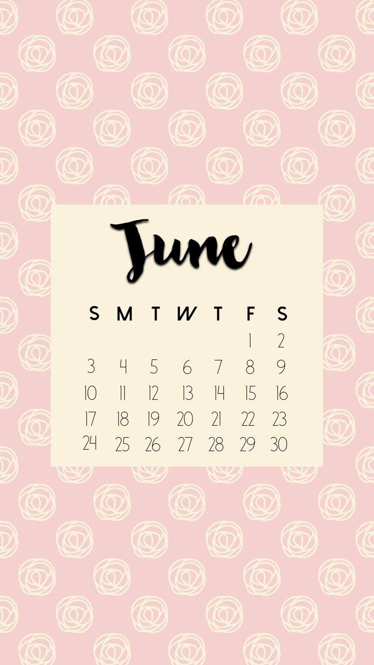June 2018 Iphone Calendar Hd Wallpapers Jpg 750 1334 Gambar