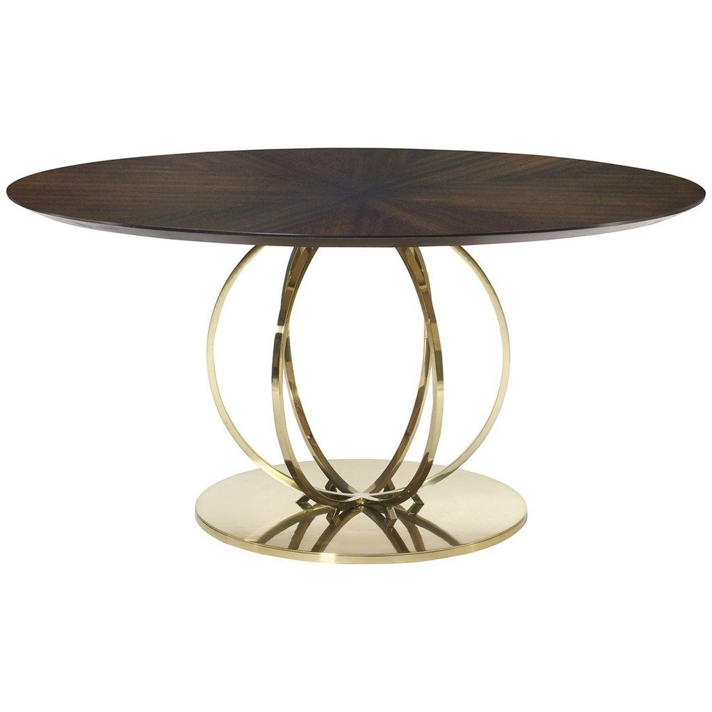 Bernhardt Jet Set Dining Tables Jet Set Round Dining Table