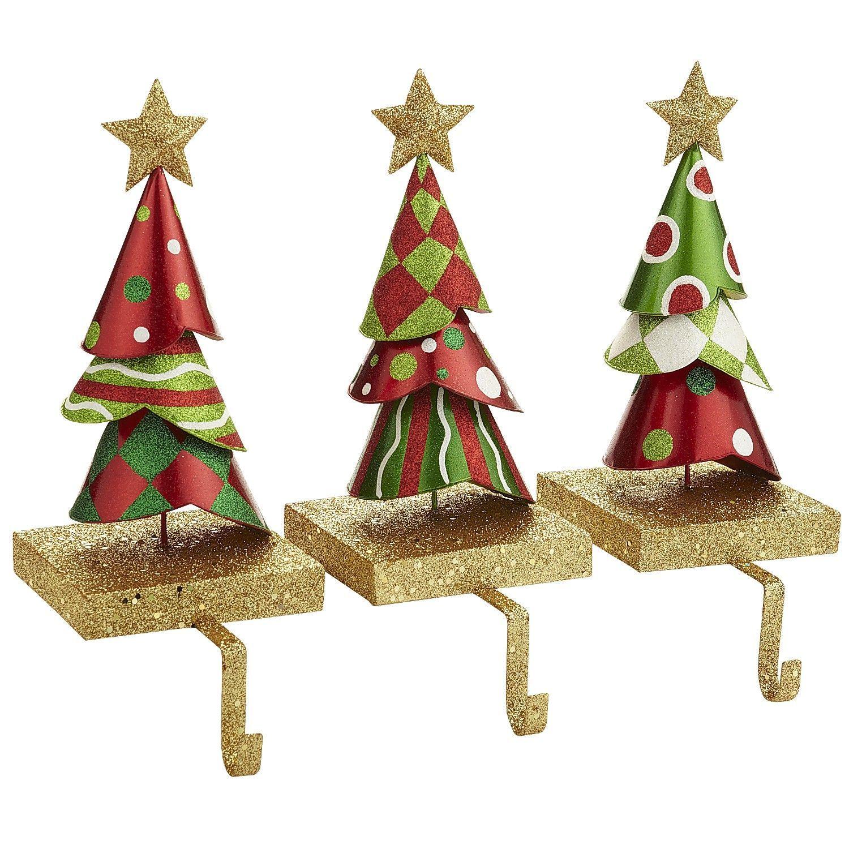 Stocking Holders Whimsical christmas decor, Vintage