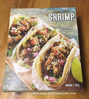 Trader Joe's Shrimp Soft Tacos | Trader joe's shrimp ...