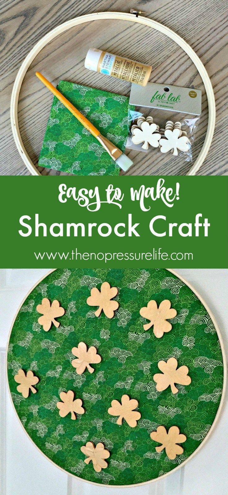 How to Make an Easy Shamrock Craft for St. Patrick's Day ...