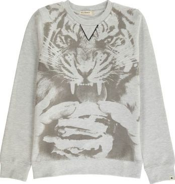 Billybandit Tiger Sweatshirt Heather grey `2 years,3 years,4 Fabrics : flannel jersey Details : tiger print, Round Neck Composition : 75% Cotton, 25% Polyester, Detail, 96% Cotton, 4% Elastane http://www.comparestoreprices.co.uk/january-2017-7/billybandit-tiger-sweatshirt-heather-grey-2-years-3-years-4.asp