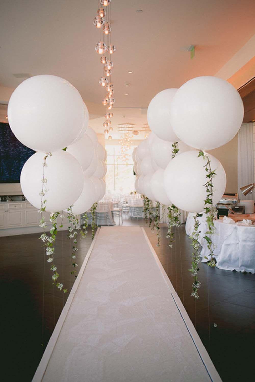 Fresh Ways To Decorate Your Ceremony Aisle Wedding