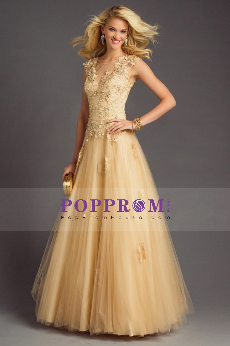 hot selling princess scoop prom dresses floor length with