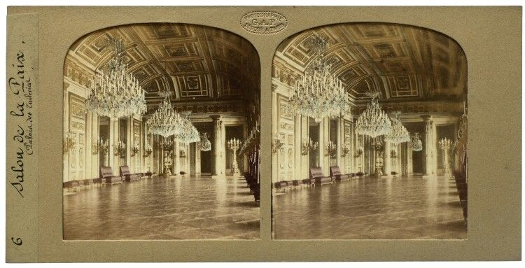 Florent Grau  Salon de la Paix. (Palais des Tuileries)