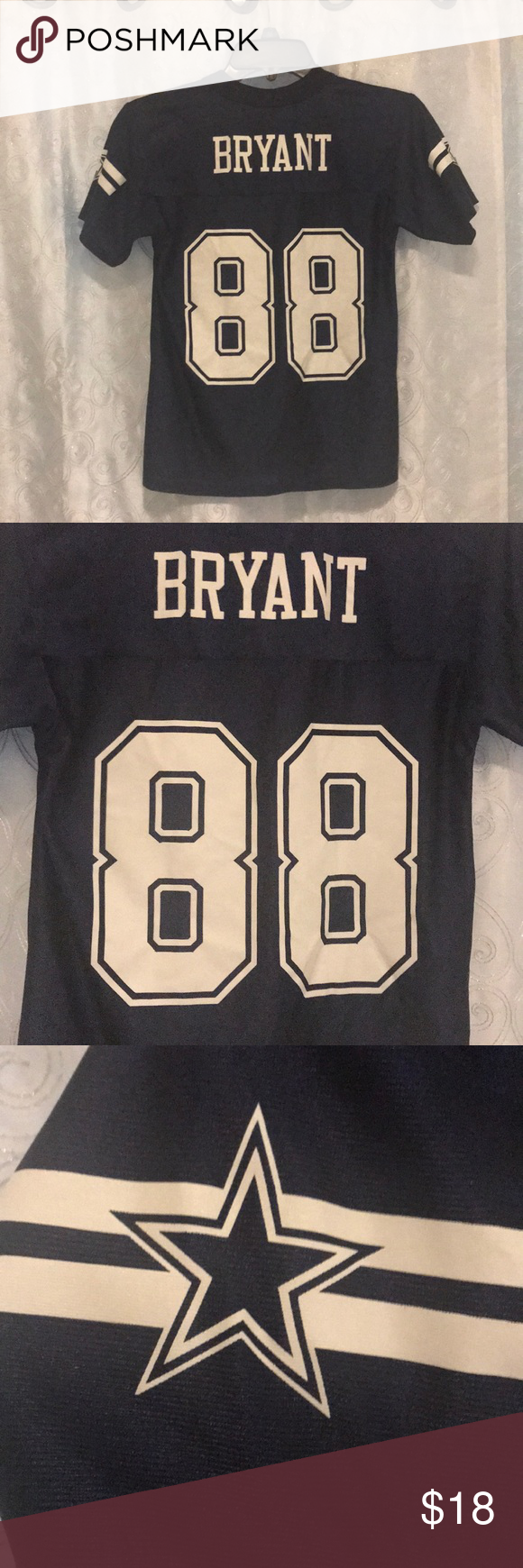 Dallas Cowboys Dez Bryant Jersey Size Kids Small! This jersey is in excellent condition and is ready to be worn. (See photos) Comes from a smoke free home. Feel free to bundle and make an offer! Dallas Cowboys Shirts & Tops Tees - Short Sleeve #dezbryantjersey Dallas Cowboys Dez Bryant Jersey Size Kids Small! This jersey is in excellent condition and is ready to be worn. (See photos) Comes from a smoke free home. Feel free to bundle and make an offer! Dallas Cowboys Shirts & Tops Tees - Short Sl #dezbryant