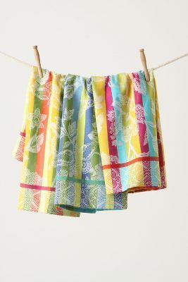 Bright Anthro Hand Towels With Images Dish Towels Anthropologie Towels Anthropologie Style