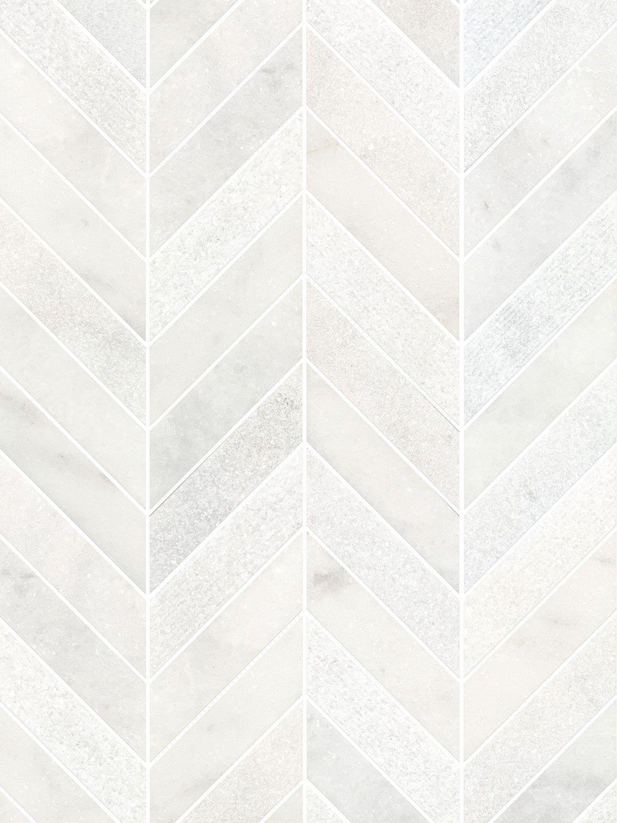 White Modern Marble Chevron Mosaic Backsplash Tile Ba631613 White Tile Backsplash Mosaic Backsplash Tile Backsplash