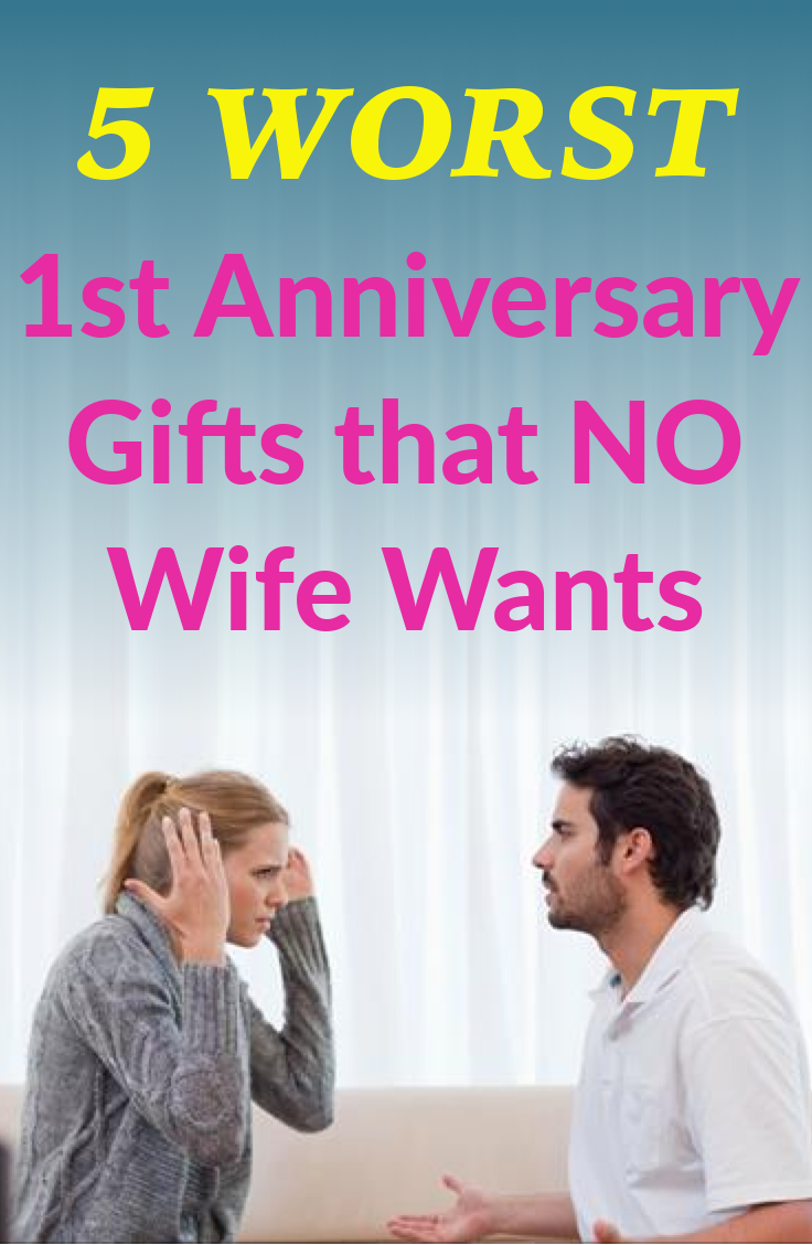 Worst Gifts to Buy Your Spouse