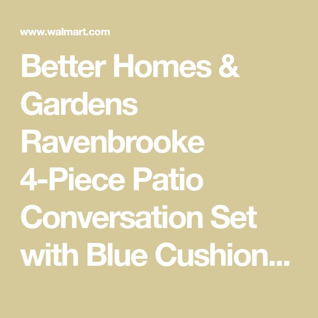 cc70b82ea67367ab84b441ac86ad3a76 - Better Homes And Gardens Ravenbrooke 4 Piece Patio Conversation Set