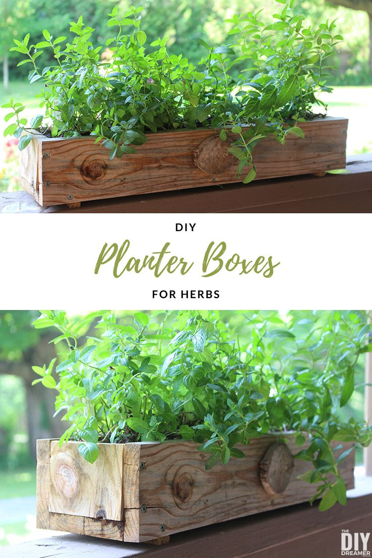 Diy Planter Boxes For Herbs How To Make A Planter Box 640 x 480