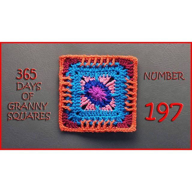 365 Days of Granny Squares is on the blog!! This one is designed by Aurora and…