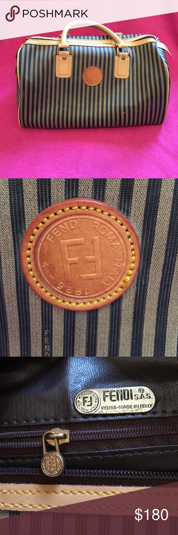 137d21b7642c Vintage Fendi Roma Italy 1925 purse Measures 13